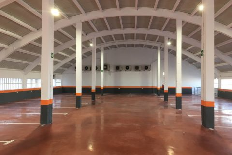 Pintura industrial en parking